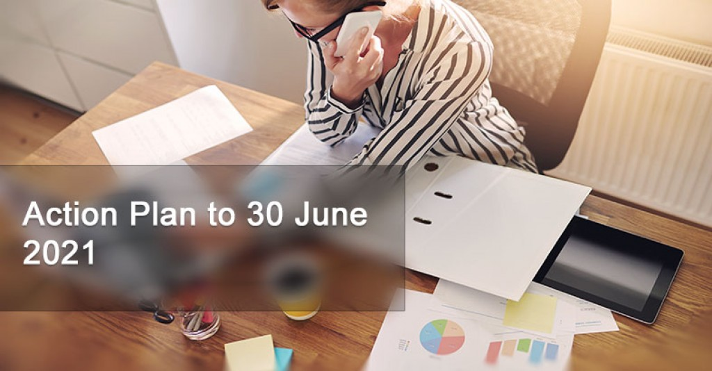 Action Plan to 30 June 2021